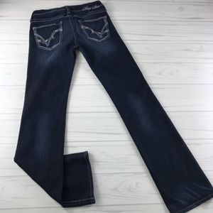 Big Star Sweet Boot Ultra Low Rise Jeans Size 29L